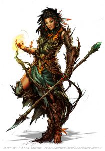 Druid – Dungeon World SRD